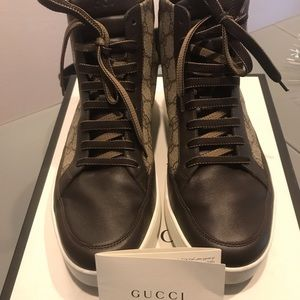 Gucci Supreme high top